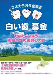 ● 04 白い歯募金ポスター